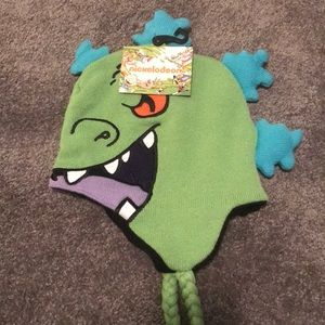 Nickelodeon Rugrats Reptar Winter Hat Adult